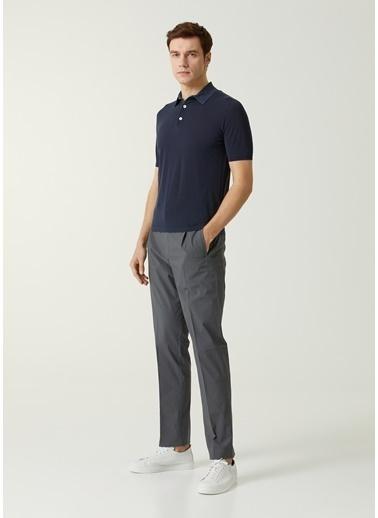 Eleventy Polo Yaka T-shirt Lacivert